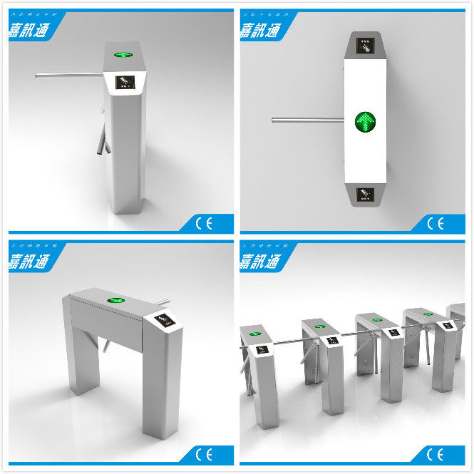 Stainless Steel Rust Proof Tripod Turnstile Gate Compatible IC ID Barrier