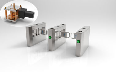 Multiple Biometrics Swing Access Control Turnstile Gate With Fingerprint Recognition RFID Reader